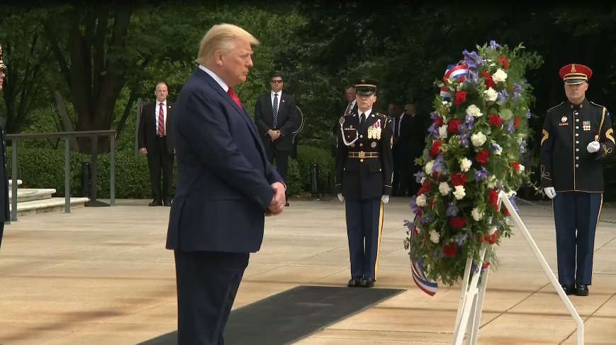 Christmas Events In Maryland 2020 Trump doubles up with Maryland, Virginia Memorial Day events | WWLP
