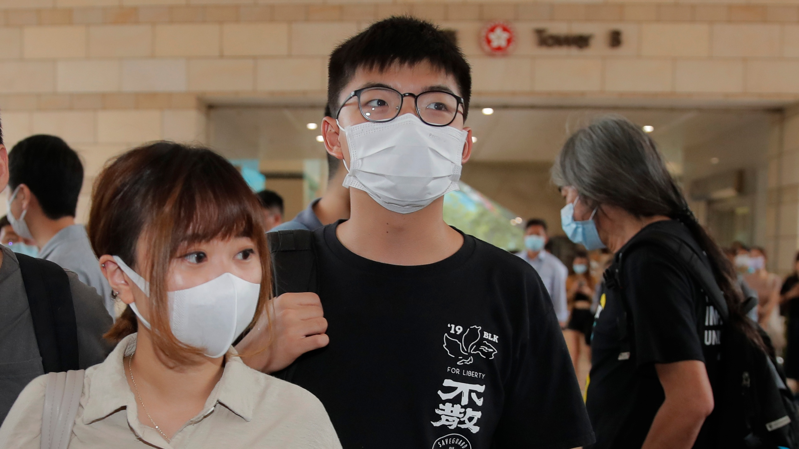 Hong Kong Activist Wong Arrested Over Unauthorized Assembly Wwlp Joshua gomez ретвитнул(а) sarah lancaster. 2