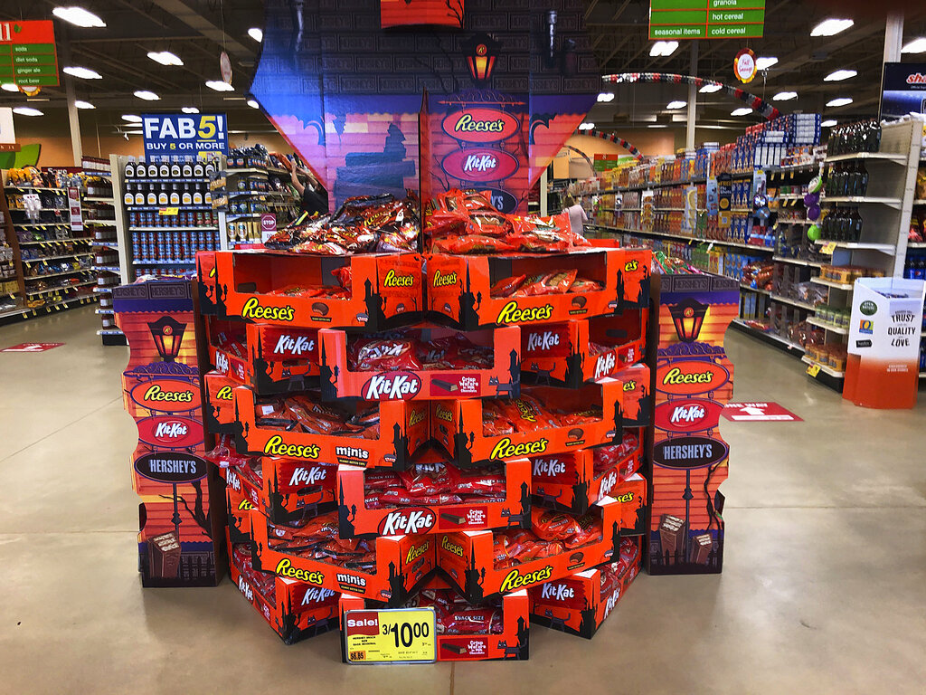 Dea 2020 Press Release Halloween Candy Americans load up on Halloween candy while waiting to see if trick