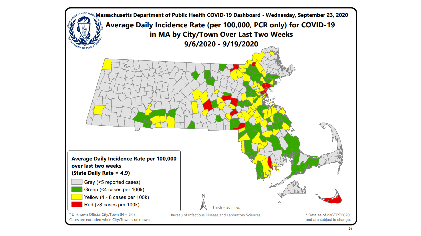 Top 5 Covid 19 Case Numbers In Western Massachusetts Wwlp