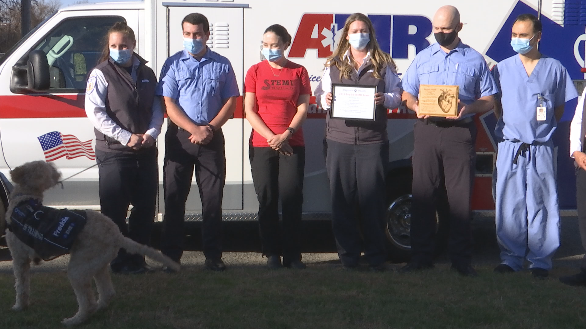 Springfield AMR paramedics honored for saving lives