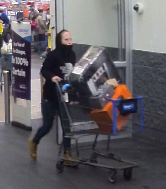 Chicopee Walmart larceny