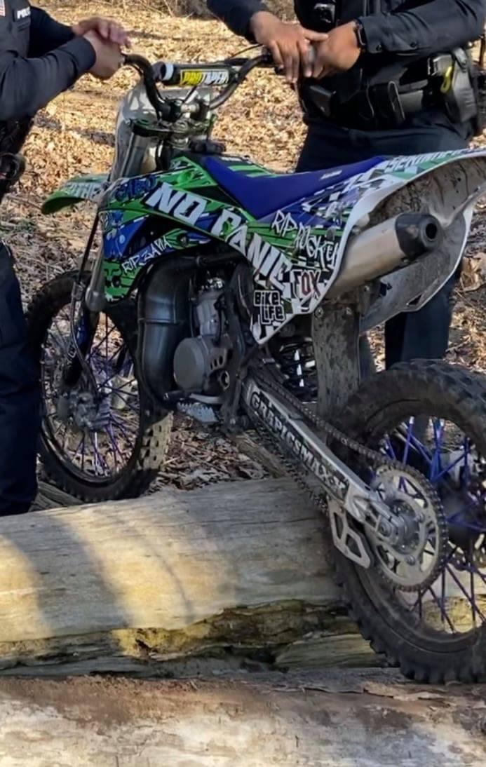 Springfield Anti-Dirt Bike Detail