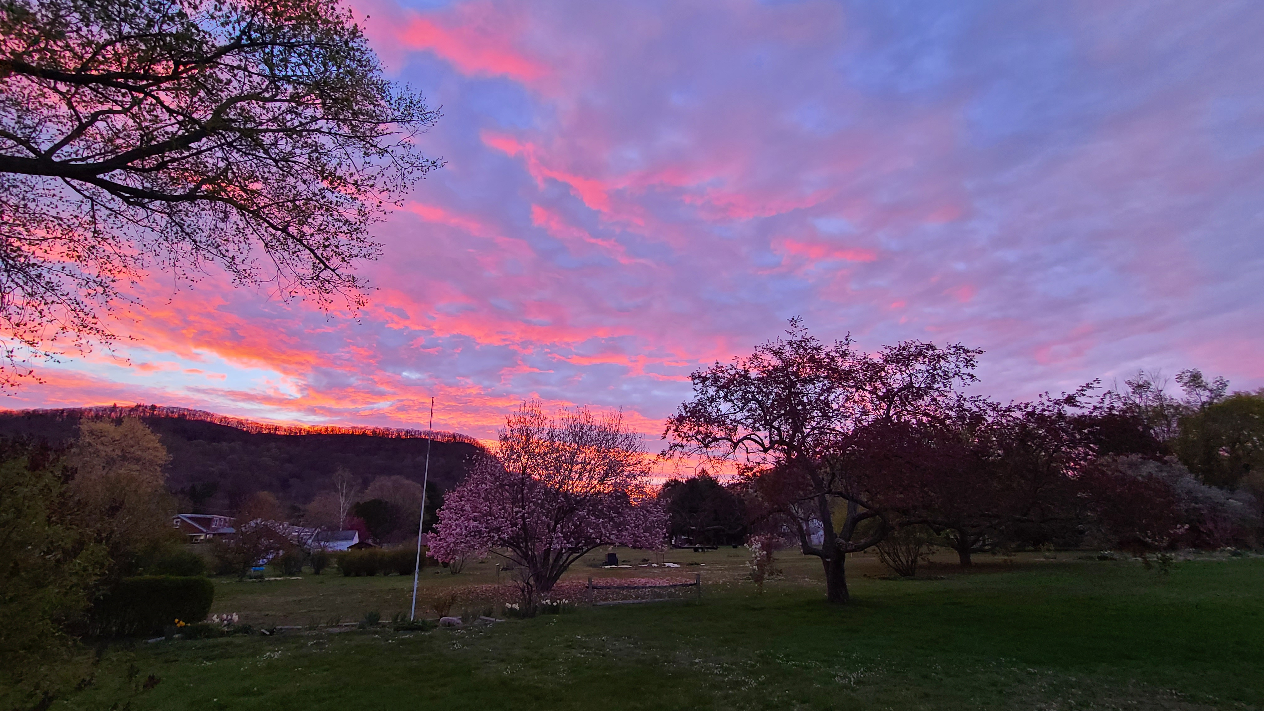 Sunrise in South Deerfield