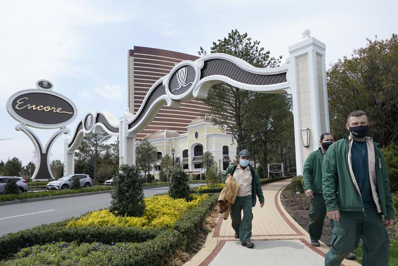 Associated Press Encore Casino employees pic
