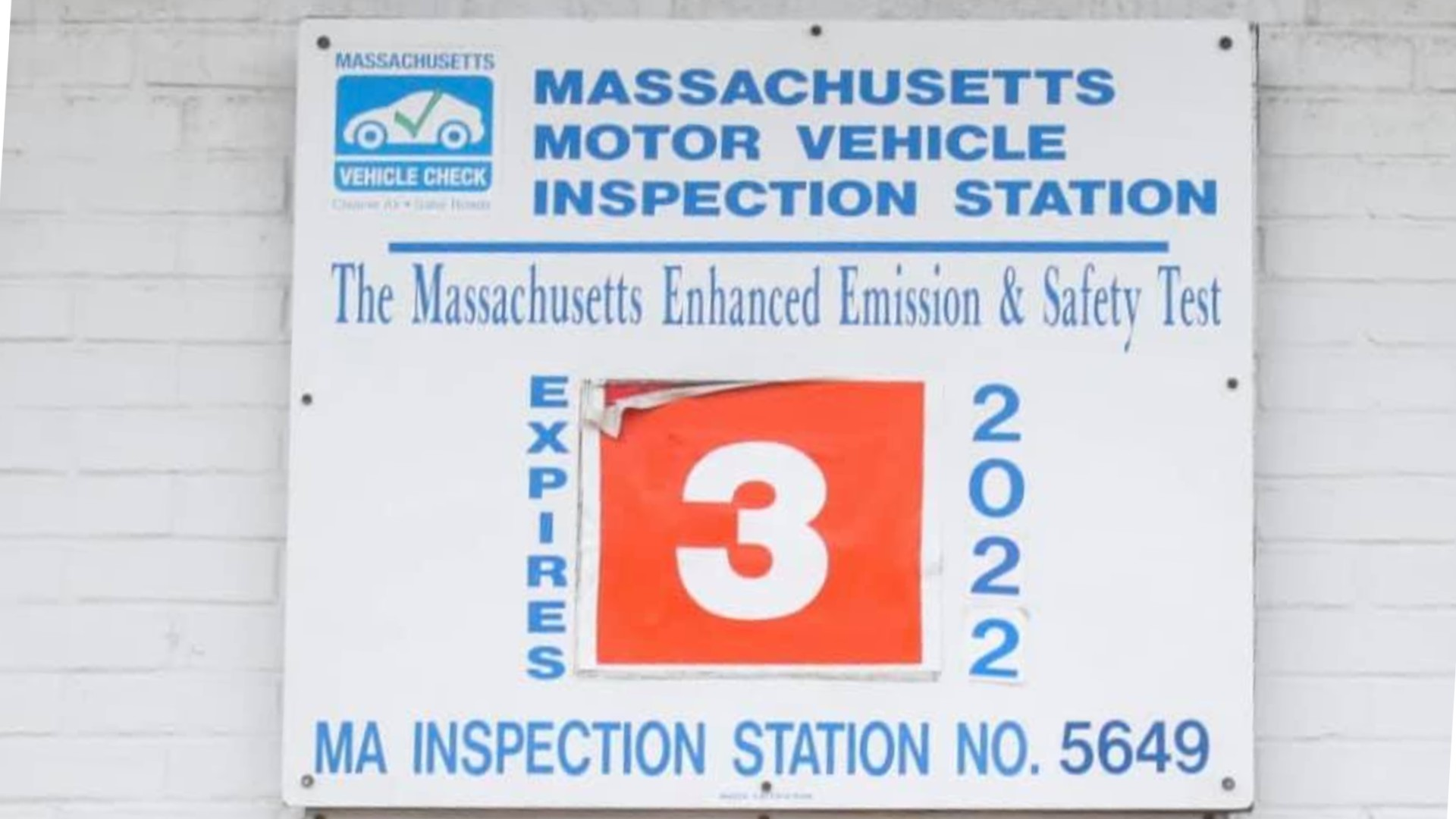 Massachusetts Motor Vehicle Inspection Station