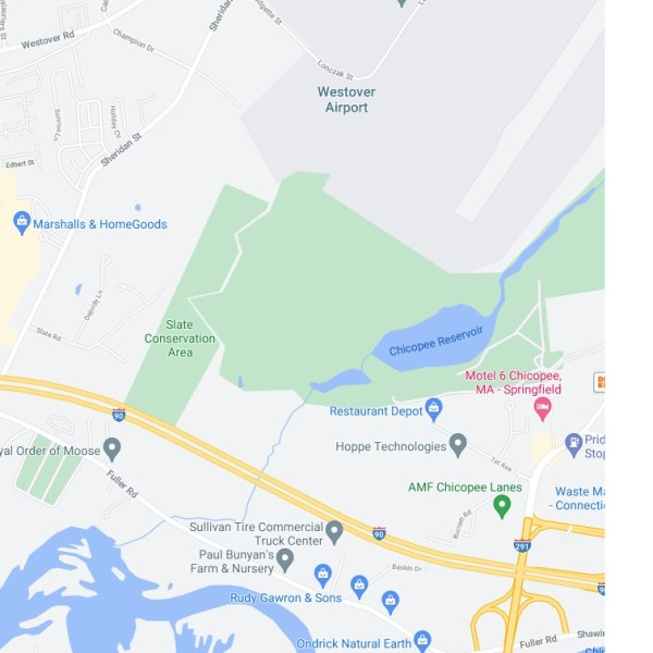 Slate conservation area map