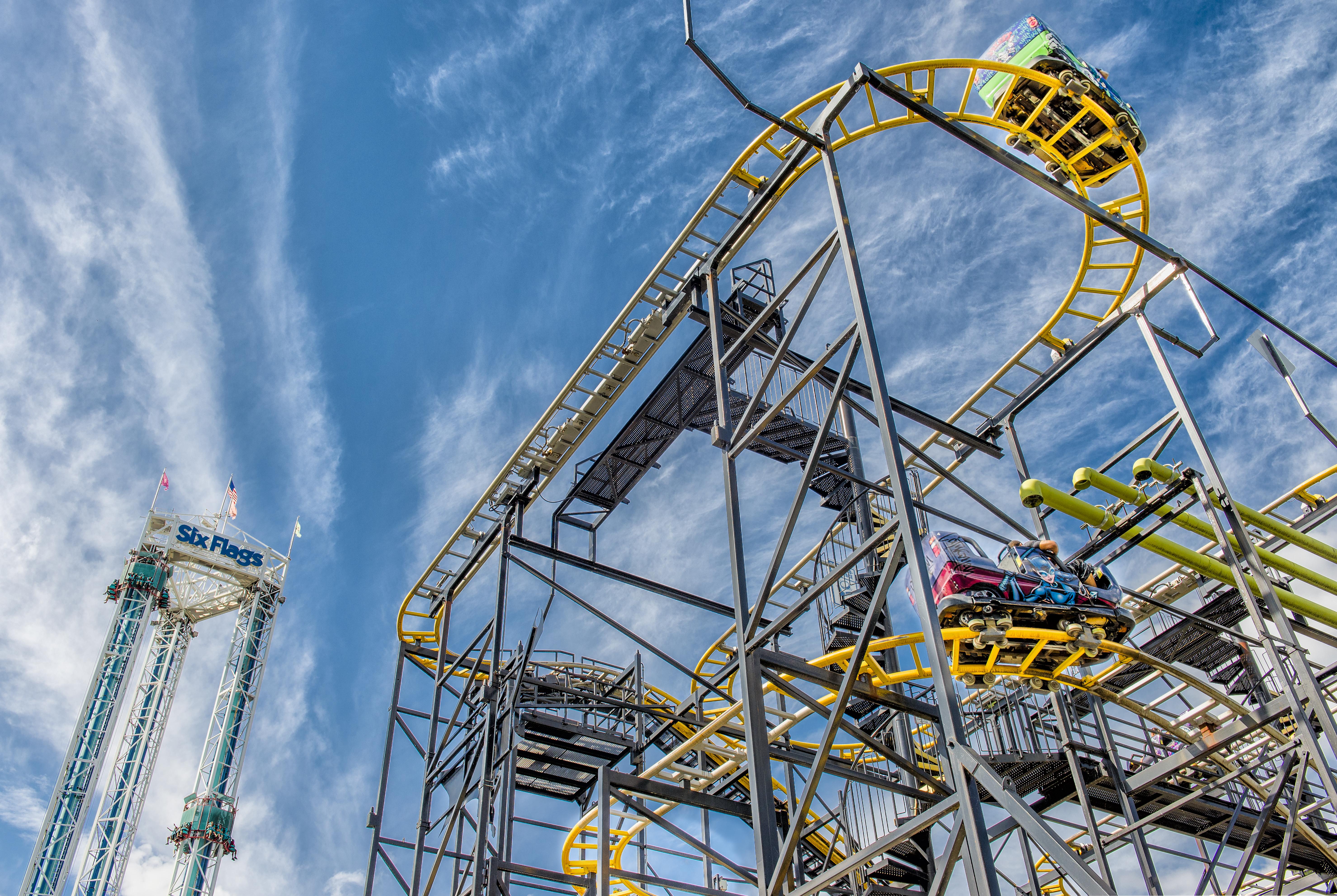 Gotham City Gauntlet - Six Flags New England