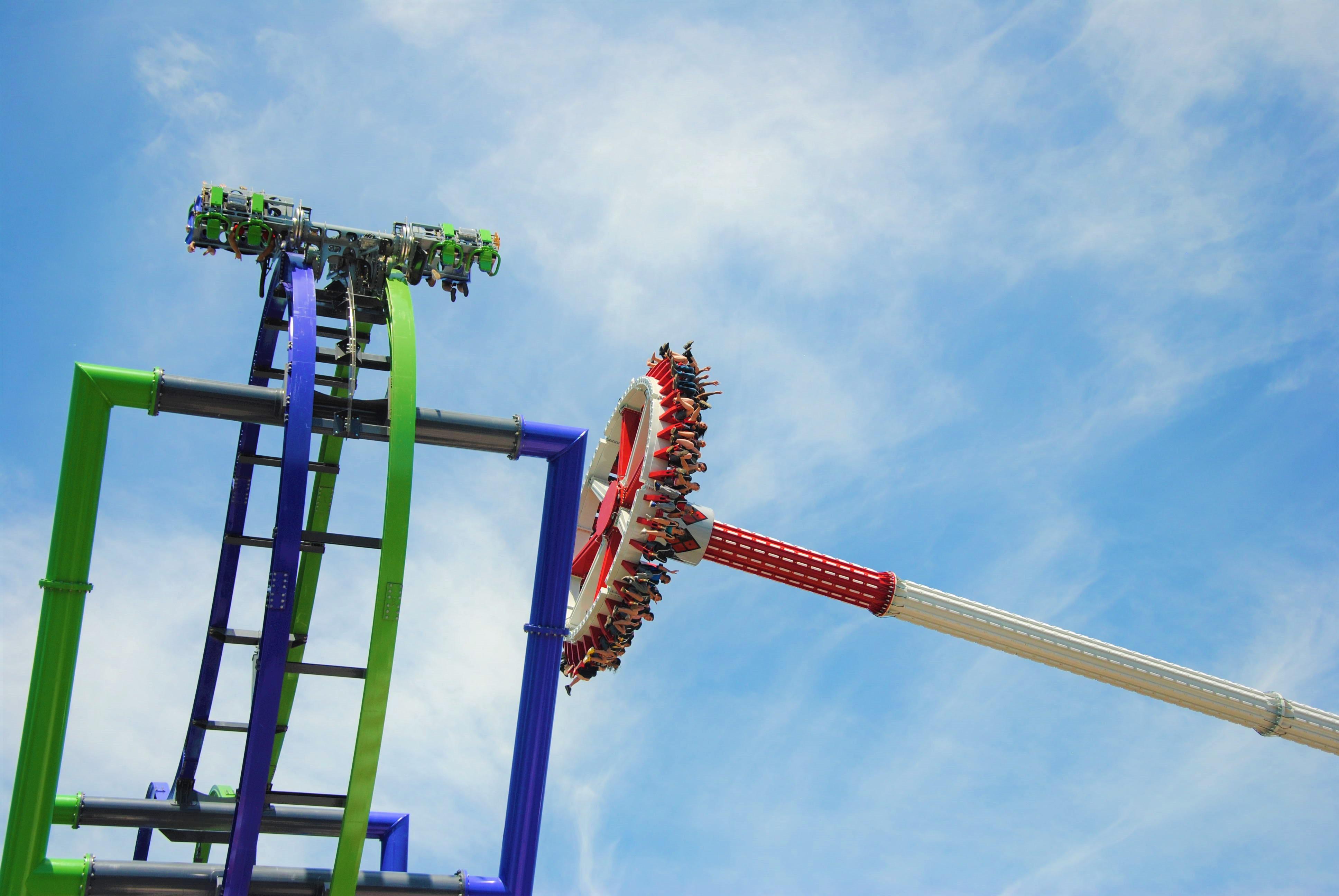 HQ & JOKER - Six Flags New England