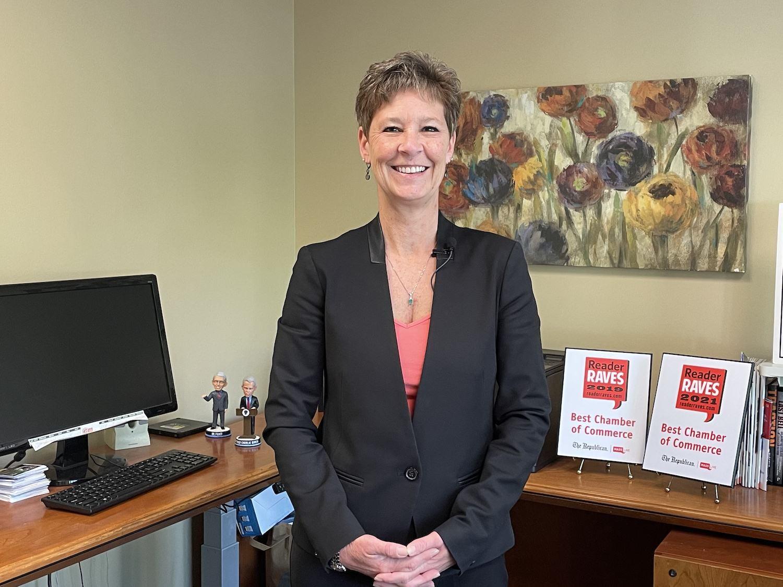 Nancy Creed chamber president